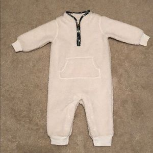 Baby fleece coverall size 6 months